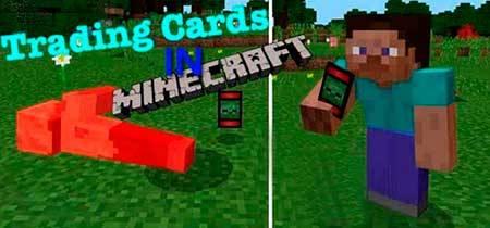 Мод Trading Cards для Minecraft PE