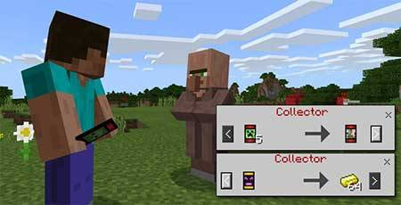 Trading Cards mcpe 2