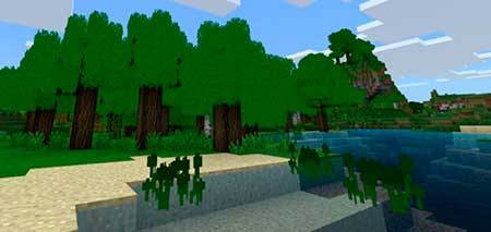 3D Vegetation mcpe 1