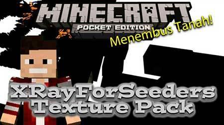 Текстуры XrayForSeeders для Minecraft PE