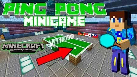 Карта Ping Pong для Minecraft PE