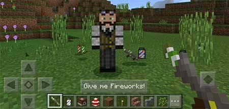 Fireworks mcpe 1