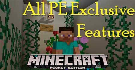 Карта All PE Exclusive Features для Minecraft PE