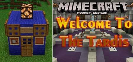 Карта Welcome To The Tardis для Minecraft PE