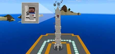 Mine-Rocket mcpe 1