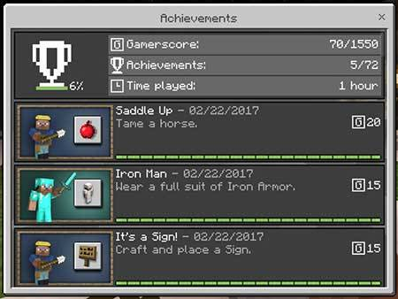 Achievement World mcpe 4