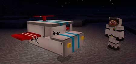 Spaceship mcpe 1