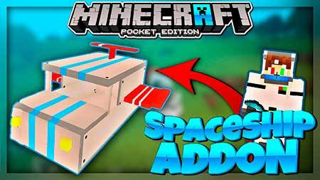 Мод Spaceship для Minecraft PE