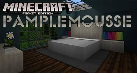 Текстуры Pamplemousse для Minecraft PE