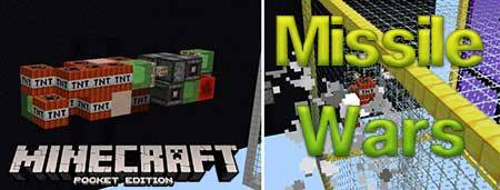 Карта Missile Wars для Minecraft PE