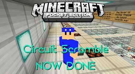 Карта Circuit Scramble для Minecraft PE