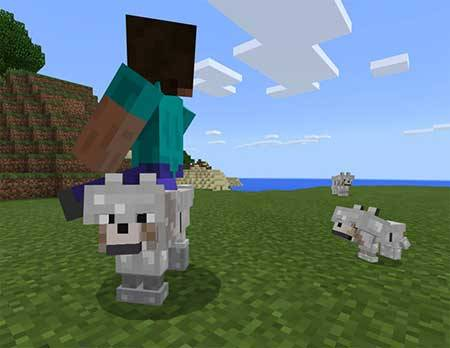 Armored Wolf mcpe 2