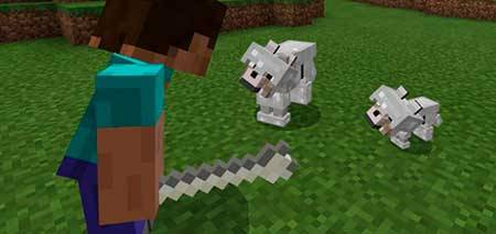 Armored Wolf mcpe 1