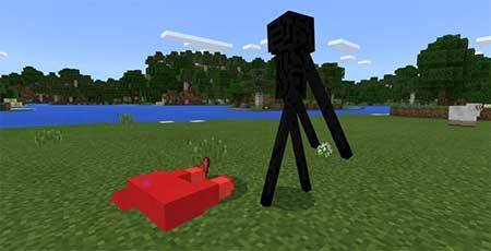 Enderman Pet mcpe 2