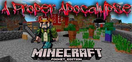 Мод A Proper Apocalypse для Minecraft PE