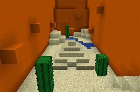 Defeat The Concrete PE mcpe 1