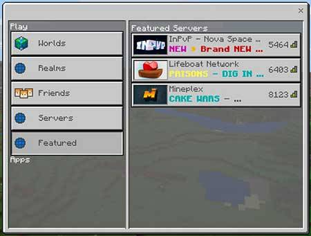 BeaconPlay UI Pack mcpe 2