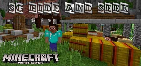 Карта SG Hide and Seek для Minecraft PE