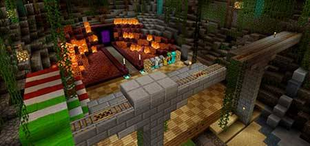Texture Pack Review Map mcpe 1
