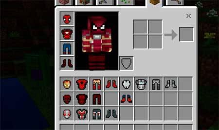 Marvel Heroes mcpe 3