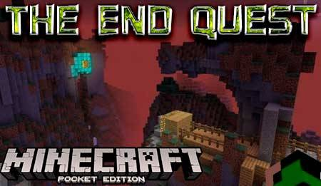 Карта The End Quest для Minecraft PE