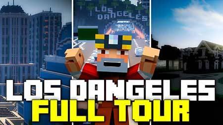 Карта Los Dangeles для Minecraft PE