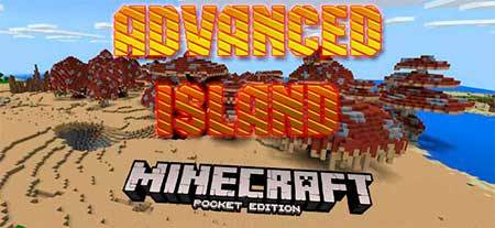 Карта Advanced Island для Minecraft PE