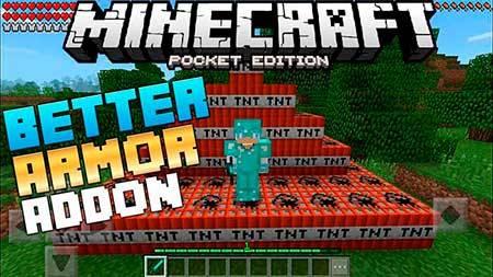 Мод Better Armor для Minecraft PE