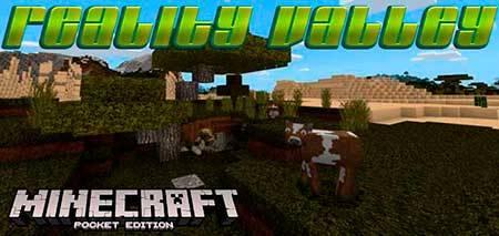 Текстуры Reality Valley для Minecraft PE
