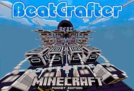 Карта BeatCrafter для Minecraft PE