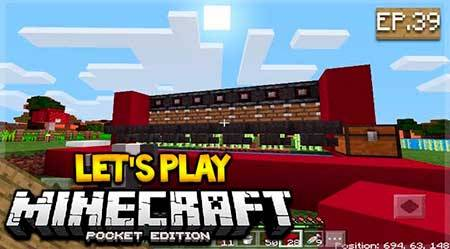Карта EckoSoldier's Let's Play World для Minecraft PE