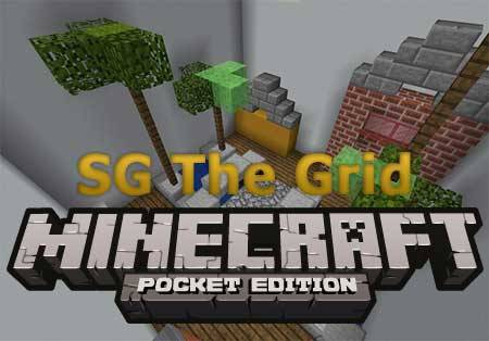 Карта SG The Grid для Minecraft PE