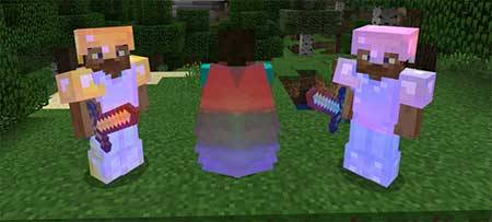 Rainbow Enchants mcpe 2