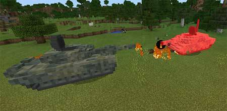BattleTanks mcpe 2