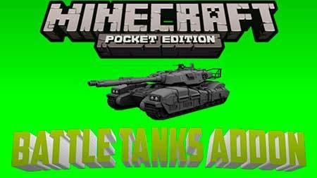 Мод BattleTanks для Minecraft PE