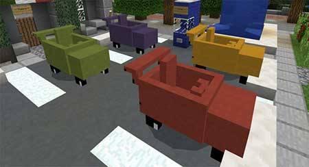 Mine-Cars mcpe 1