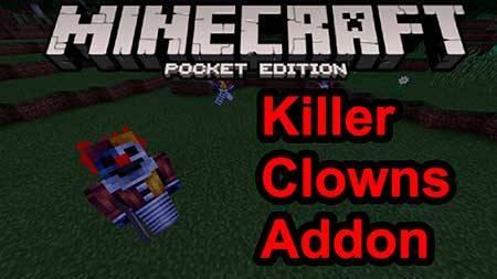 Мод Killer Clown для Minecraft PE