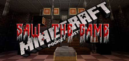 Карта Saw: The Game для Minecraft PE