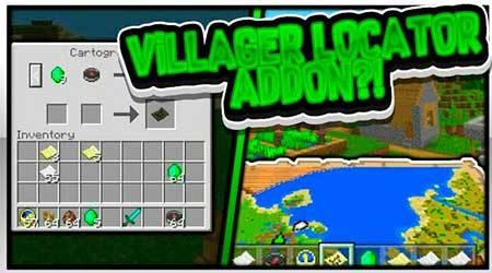 Мод Village Locator для Minecraft PE