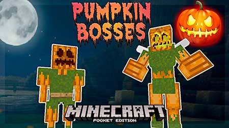 Мод Pumpkin Maniac для Minecraft PE