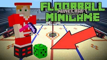 Карта Floorball для Minecraft PE