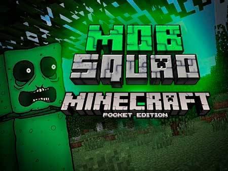 Текстуры Mob Squad для Minecraft PE