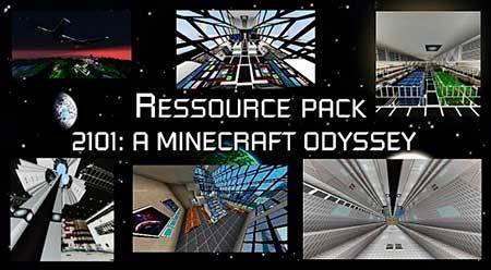Текстуры 2101: A Minecraft Odyssey для Minecraft PE
