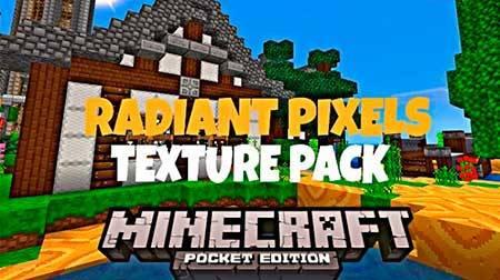 Текстуры Radiant Pixels для Minecraft PE