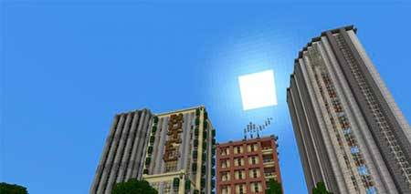 Cloudless Skies mcpe 1