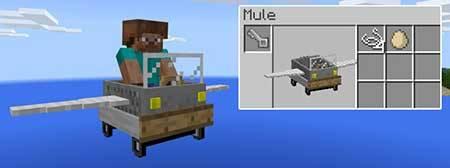 Vanilla Vehicles mcpe 3