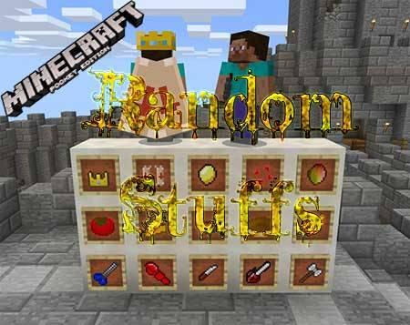 Текстуры Random Stuffs для Minecraft PE