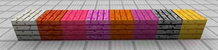 Colored Blocks mcpe 2
