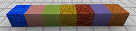 Colored Blocks mcpe 3