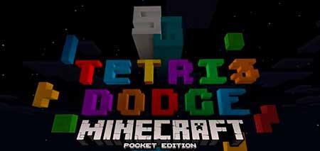 Карта SG Tetris Dodge для Minecraft PE